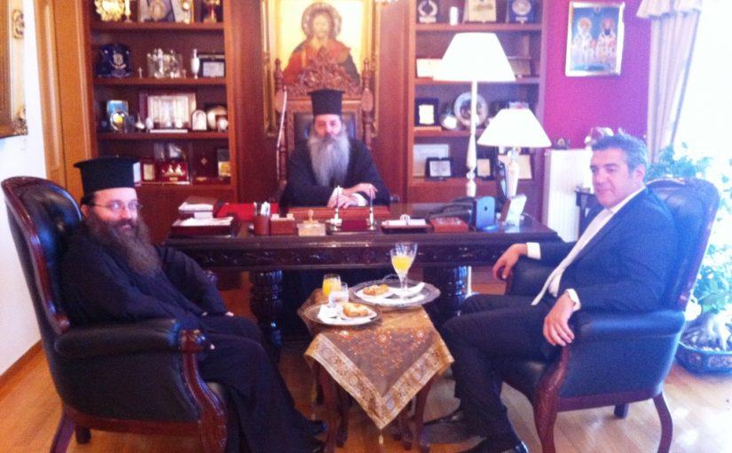 Συνάντηση Πειραιώς και Χίου με τον νέο Υπουργό Ναυτιλίας και Αιγαίου