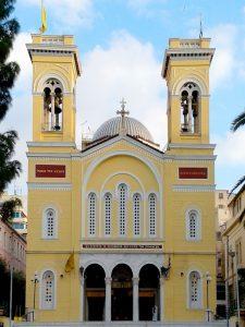 Ιερός Ναός Αγίου Σπυρίδωνος, Πολιούχου Πειραιώς