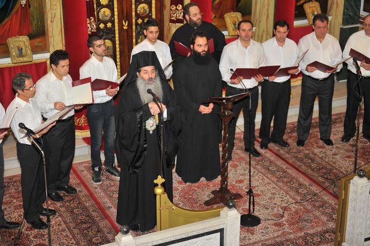 Χριστουγεννιάτικη μουσική εκδήλωση από την χορωδία της Σχολής Βυζαντινής Μουσικής