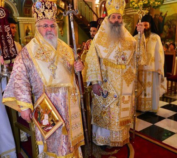 Πραγματοποιήθηκε η Πανήγυρης του Ιερού Ναού Αγίου Κωνσταντίνου και Ελένης Πειραιώς.