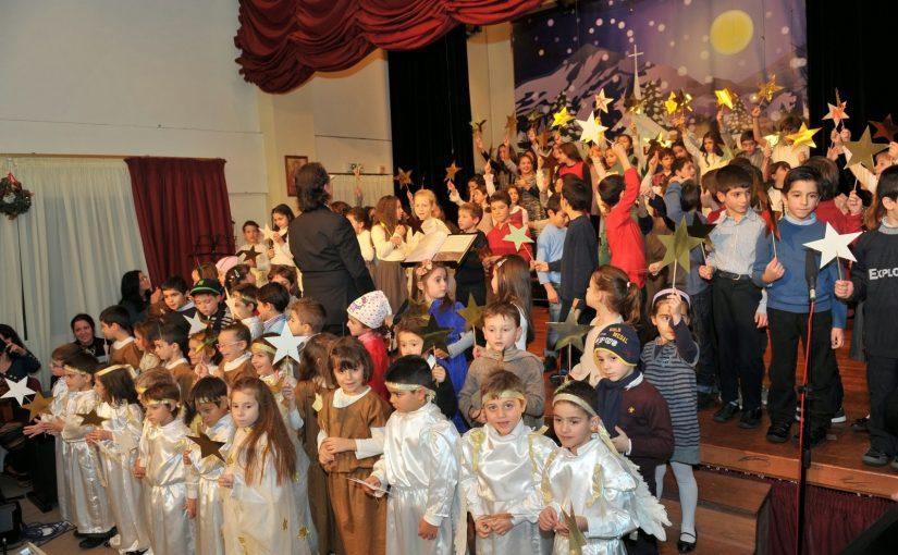 Χριστουγεννιάτικη γιορτή από το Δημοτικό σχολείο της Μητροπόλεώς μας