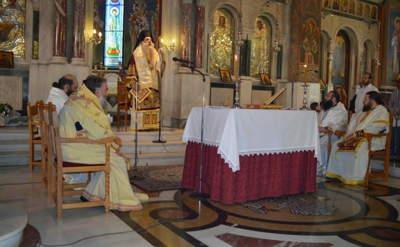 Η Αρχαιοπρεπής Θεία Λειτουργία των Αποστολικών Διαταγών στον Άγιο Δημήτριο Νέου Φαλήρου