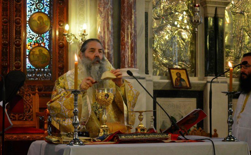 Η Θεία Λειτουργία του Αγίου Ιακώβου του Αδελφοθέου στον Ιερό Ναό Αγίου Δημητρίου Νέου Φαλήρου