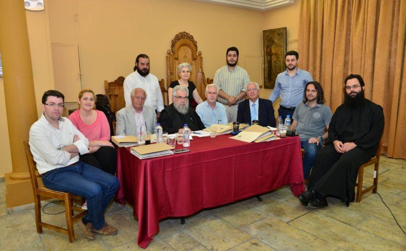 Εγγραφές και Αγιασμός στη Σχολή Βυζαντινής Μουσικής της Ι.Μ.Π.