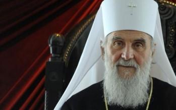 Επιστολήν πρός τόν Μακαριώτατον Πατριάρχην Σερβίας κ.κ. ΕΙΡΗΝΑΙΟΝ