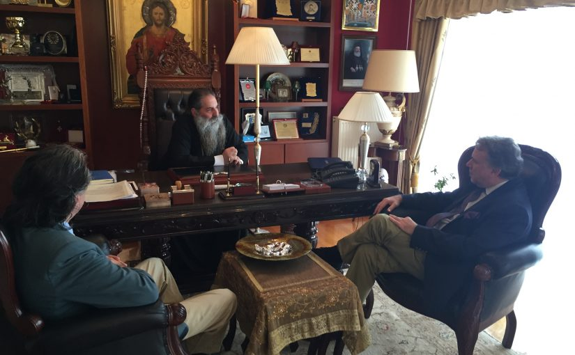 Επίσκεψη του κ. Γεωργίου Κατρούγκαλου στον Σεβασμιώτατο Μητροπολίτη Πειραιώς κ.κ. Σεραφείμ