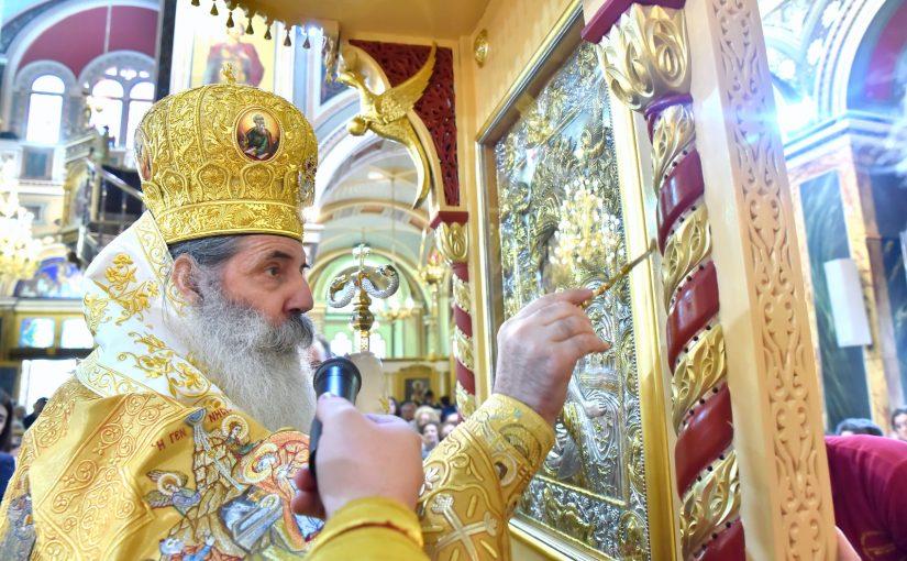 Κυριακή προ των Χριστουγέννων στον Μητροπολιτικό Ιερό Ναό Αγ. Κωνσταντίνου και Ελένης Πειραιώς.