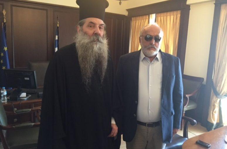 Συνάντηση του Σεβασμιωτάτου Μητροπολίτου Πειραιώς με τον Υπουργό Εσωτερικών