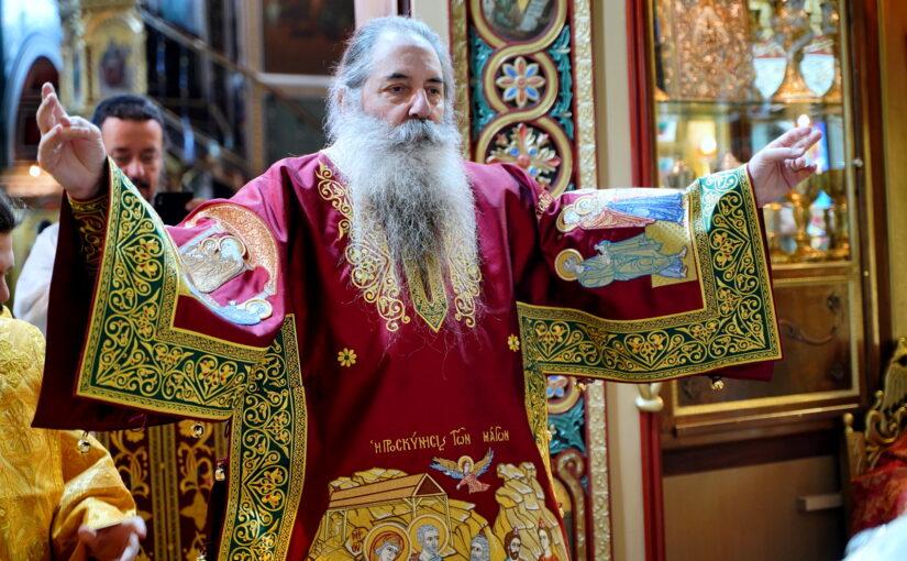 Κυριακή προ της Χριστού Γεννήσεως στον Μητροπολιτικό Ι.Ν. Αγ. Κωνσταντίνου και Ελένης Πειραιώς.