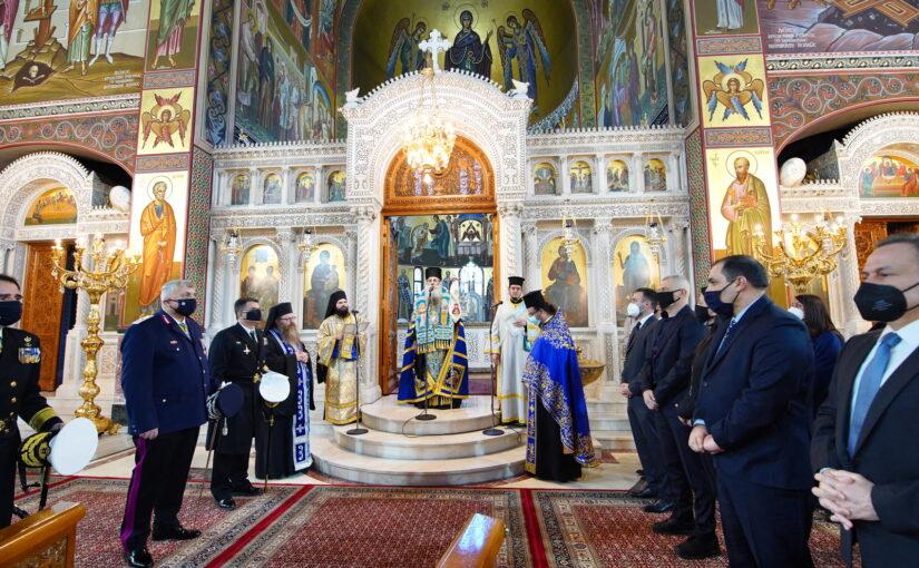 Η διπλή εορτή του Ευαγγελισμού της Θεοτόκου και του 1821 στην Ιερά Μητρόπολη Πειραιώς.