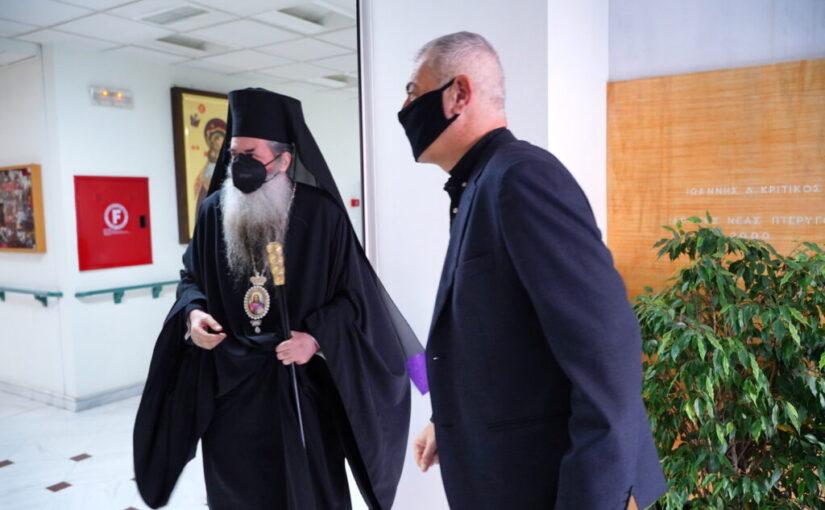 Δωρεάν rapid test στουςκληρικούς και στο προσωπικό των Ναώντης Ιεράς Μητροπόλεως Πειραιώς από τον Δήμο Πειραιά.
