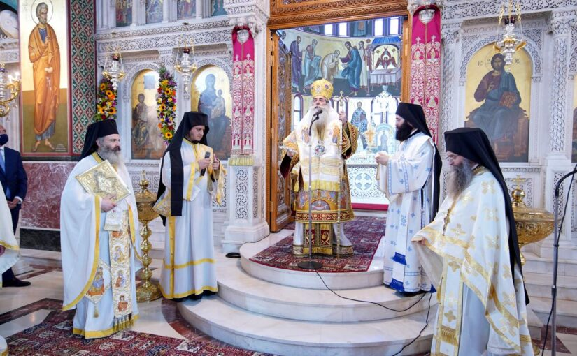 Μητροπολίτης Πειραιώς: Το Άγιο Πνεύμα μας καλεί σε μία ενότητα που είναι άρρηκτα συνδεδεμένη με το Άγιον και Πανάχραντον πρόσωπό Του.